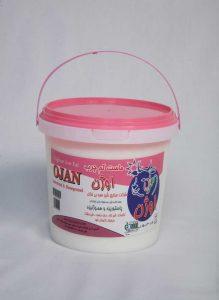 ماست سطلي 1500 گرمي 1.5% چربي اوژن