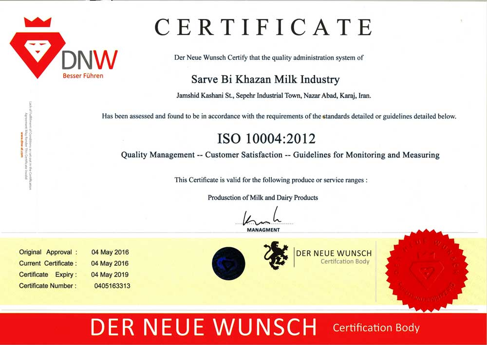 ISO 10004:2012
